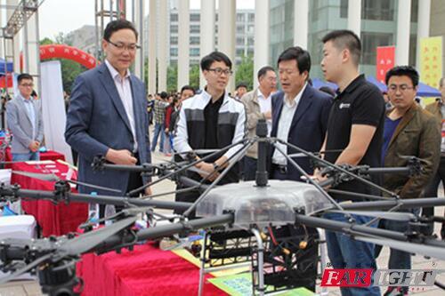 2016济南科技活动周,华清远见达成多项用人合作