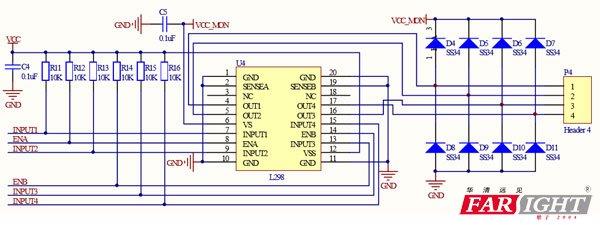 l298n直流电机驱动