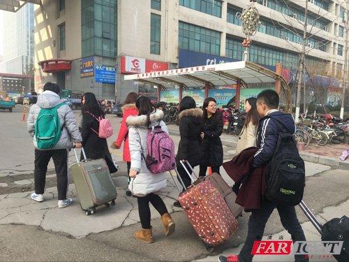 学员抵达华清远见济南中心