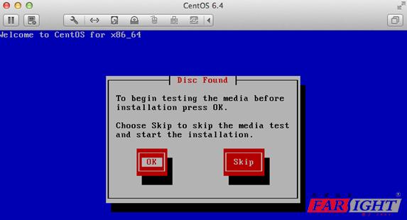 跳过Linux系统安装测试阶段